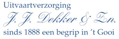 Uitvaartverzorging J.J. Dekker & Zn. B.V.
