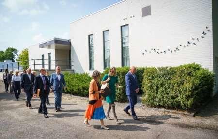 20200611 BGNU Werkbezoek minister Ollongren aan uitvaartbranche Ontvangst bij DO Uitvaartzorg en Essenhof