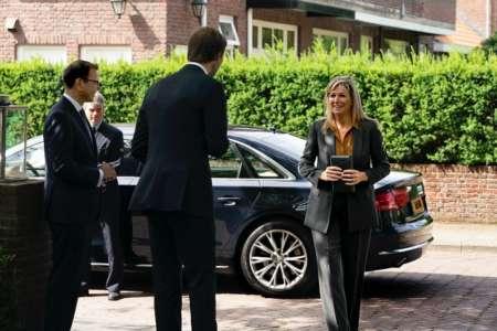 20200702 BGNU Bezoek Koningin Maxima aan Engelen en Spoor Uitvaartverzorging na brief aan de koning foto Arenda Oomen